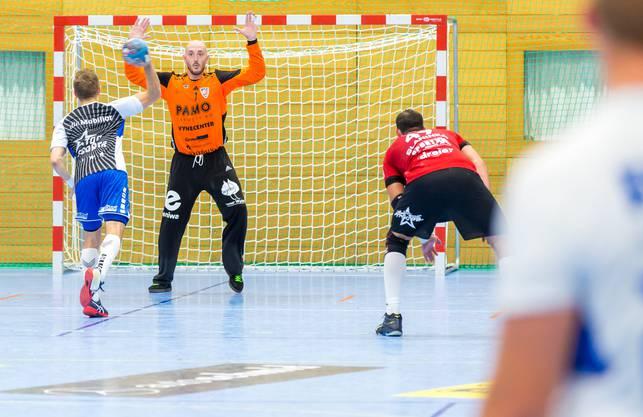 Bilder HSC Suhr Aarau vs. HC Kriens Luzern, Dragan Marjanac HSC Suhr Aarau vs. HC Kriens-Luzern