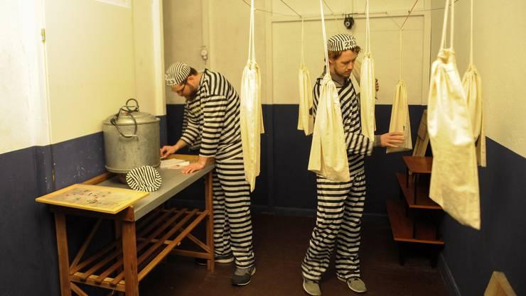 Zwei bz-Testspieler in einer Breakout-Zelle
