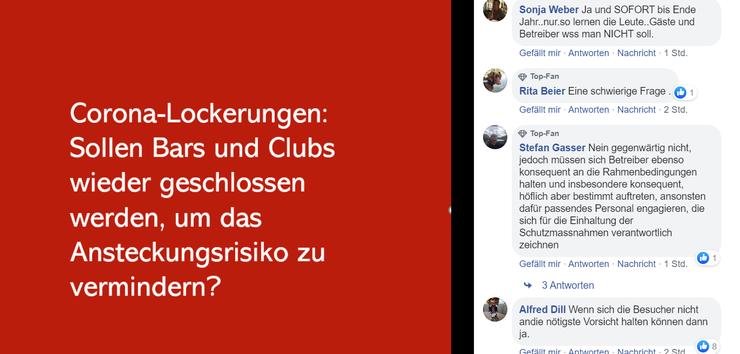 Auch auf der Seite der Solothurner Zeiung löst die Frage einige Diskussionen aus.