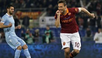 Feiert sein neuntes Derbytor: Francesco Totti