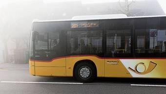 Der Testbetrieb des Busses 201 endet im kommenden Jahr. Archivbild: Severin Bigler