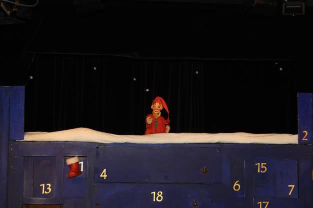 Ob als Held der Prinzessin Elisa oder als Grittibänz-Bäcker für den Weihnachtsmann, Kasperli ist immer zur Stelle.