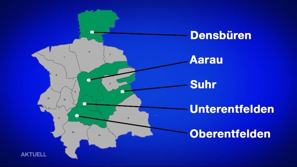 Was sind die Vorteile einer Gemeindefusion im Raum Aarau?