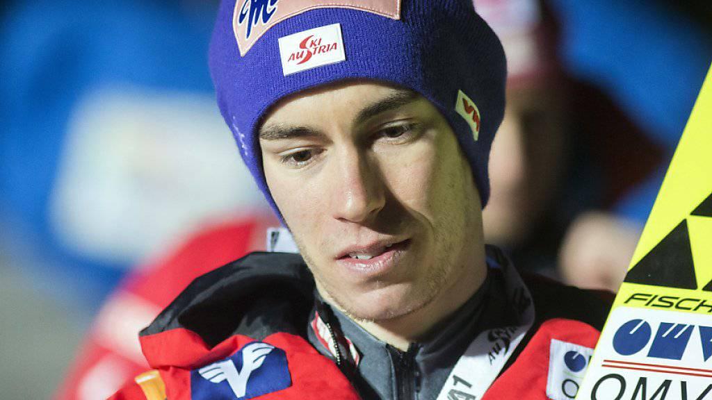 Der Tour-Leader Stefan Kraft reist unverrichteter Dinge ab