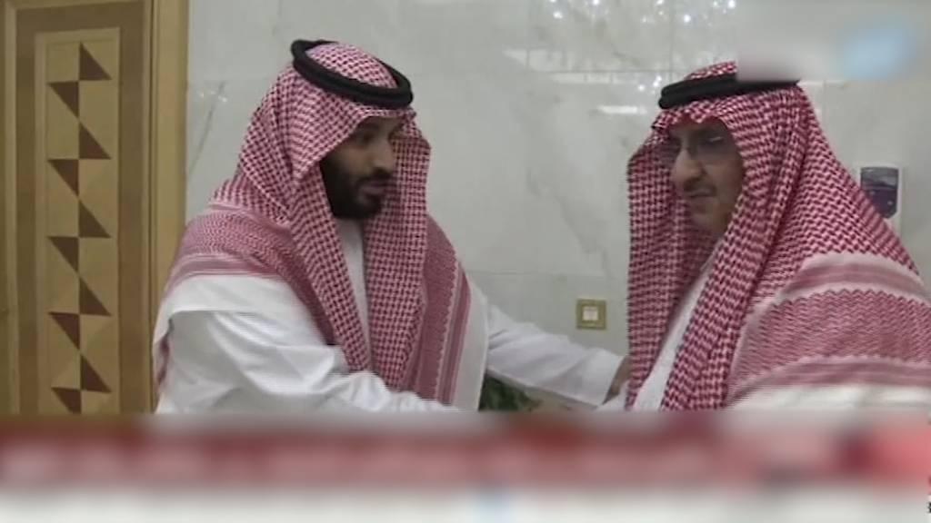 Hochrangige Mitglieder der saudischen Königsfamilie verhaftet