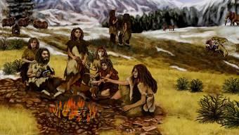 Neandertaler verfügten über beträchtliches medizinisches Wissen.