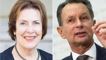 Christine Egerszegi zur Unterstützung für Philipp Müller: «Ich habe immer gesagt, dass ich in seinem Wahlkomitee mitmachen würde, wenn ich angefragt werde.»