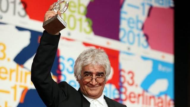 """""""Parde""""-Co-Produzent Kamboziya Partovi holte einen der Preise an der Berlinale 2013 ab (Archiv)"""