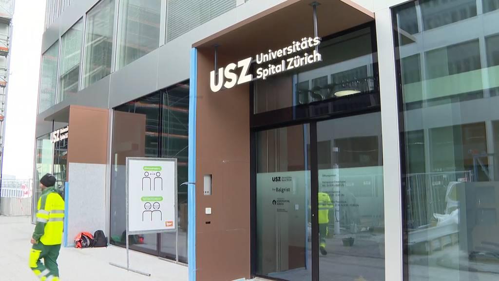 Unispital gewährt Einblicke in den neuen Ableger am Flughafen Zürich