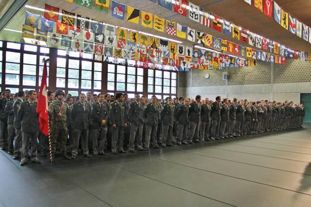 Zum Abschluss wurde die Schweizer Nationalhymne vorgespielt.
