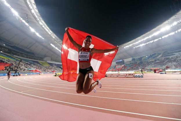 Mujinga Kambundji schreibt Geschichte - die Bernerin gewinnt die erste Schweizer WM-Medaille seit Viktor Röthlin 2007.