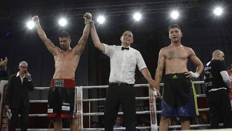 Davide Faraci (l.) besiegt Nicola Ciriani und ist neuer italienischer Meister.