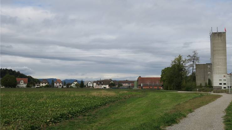 Die «Hegmatte» liegt zwischen Suhrentalstrasse und dem Dorfrand. fdu