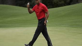 Tiger Woods wurde für sein famoses Comeback mit der Freiheitsmedaille ausgezeichnet