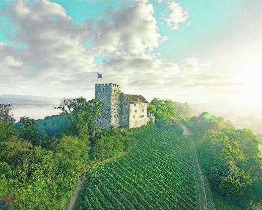 Mitten im Aargau liegt die Habsburg, Stammsitz der gleichnamigen Dynastie.