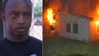 Mamadou Oury war in der Asylunterkunft, als es anfing zu brennen.