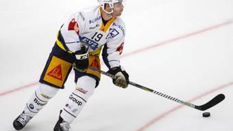 Doppel-Torschütze für den EV Zug beim Sieg in Lugano: der Schwede Oscar Lindberg