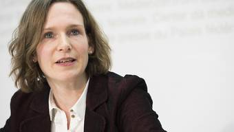 Evi Allemann - hier am 10. Januar im Bundesmedienzentrum - will von der Bundespolitik zurück in die Kantonspolitik.
