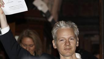 Ein Vertrauter von Wikileaks-Gründer Julian Assange aus Schweden ist in Ecuador angeklagt worden. (Archivbild)