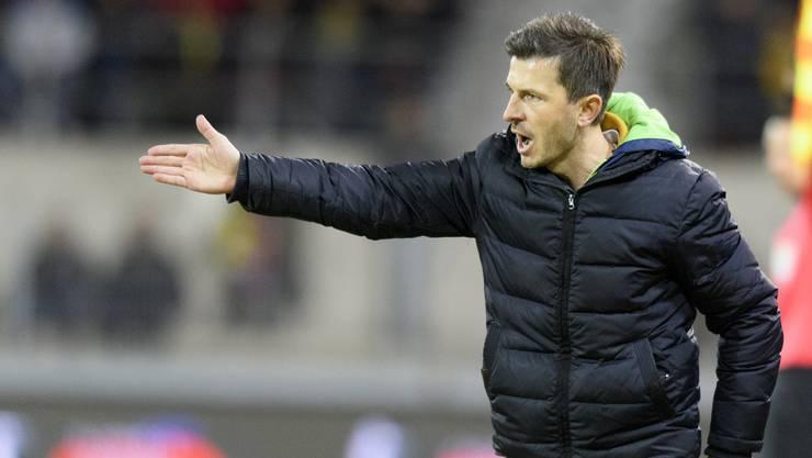 Marinko Jurendic wird neu beim FC Aarau an der Seitenlinie stehen.