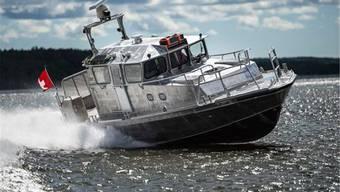 Soll Schweizer Seen überwachen: Das finnische Patrouillenboot 16.