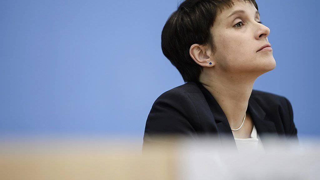Frauke Petry muss nun mit einer Anklage rechnen (Archiv)