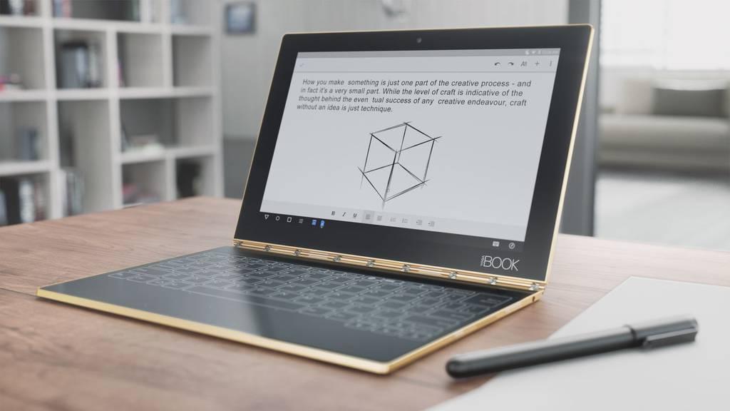 Vernetzt: Lenovo YOGA Book - das Tablet für Analoge
