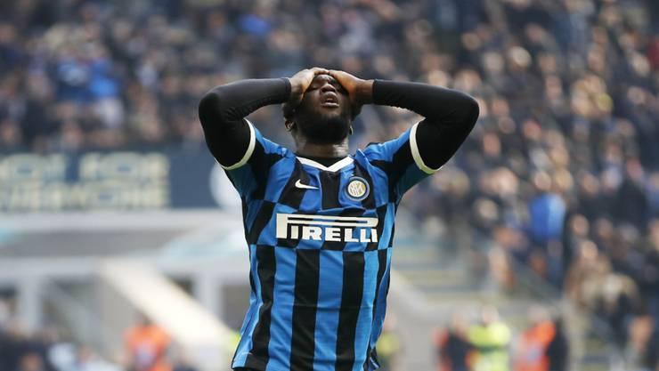 Enttäuschung bei Inter Mailand: nur 1:1 im Heimspiel gegen Cagliari
