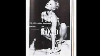 """Pamela Anderson posierte für das Magazin """"Purple"""" (Bild Facebook)"""