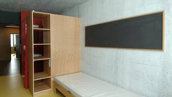 Blick in ein Zimmer des Massnahmenzentrums Bitzi (Archiv)