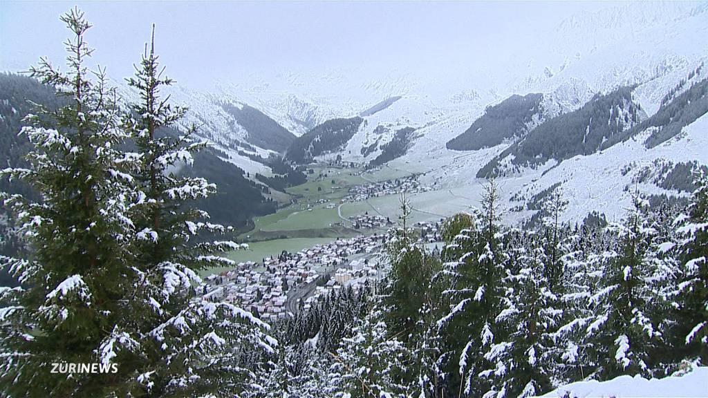 30 cm Neuschnee erzwingen vorzeitigen Alpabzug