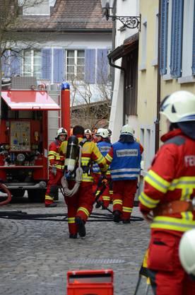 Personen wurden beim Brand keine verletzt.