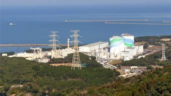 Soll nach viereinhalb Jahren wieder ans Netz: das Atomkraftwerk Sendai in der südjapanischen Präfektur Kagoshima.Keystone