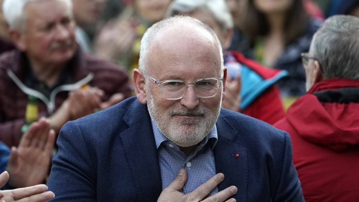 Der niederländische Sozialdemokrat Frans Timmermans könnte Nachfolger von EU-Kommissionspräsident Jean-Claude Juncker werden.