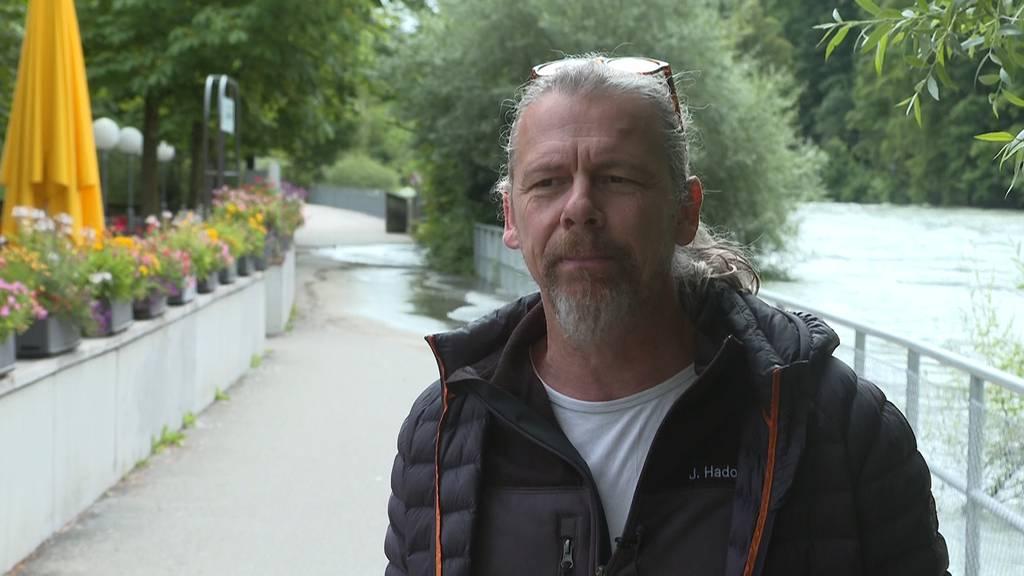 Berner Tierpark «Dählhölzli» für allfällige Überschwemmungen bereit