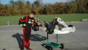 Der 12-jährige Colin Schuhmacher gewann die Regionalmeisterschaft Elsass-Lothringen.