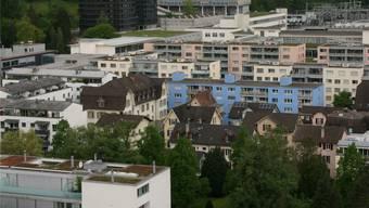 Blick gegen Martinsberg: Wie viel Potenzial zur Entwicklung ist vorhanden? -rr-