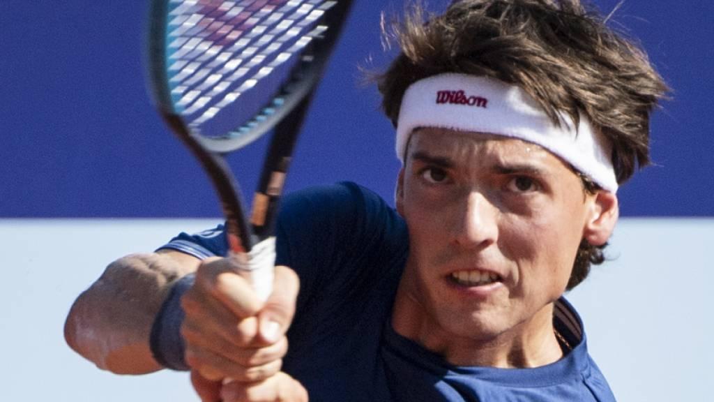 Marc-Andrea Hüsler erstmals in einem ATP-Viertelfinal