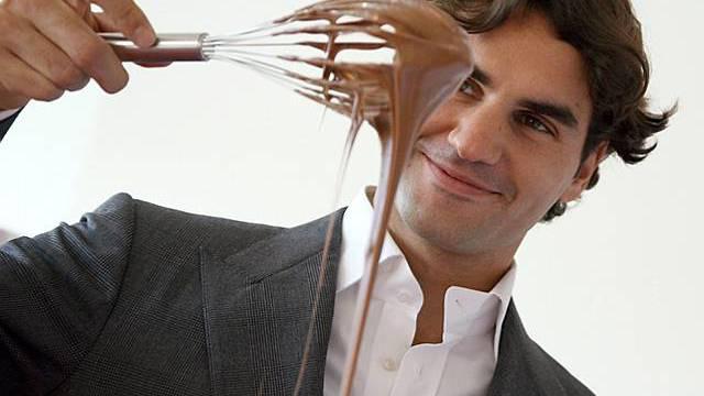 Roger Federer mag Schokolade
