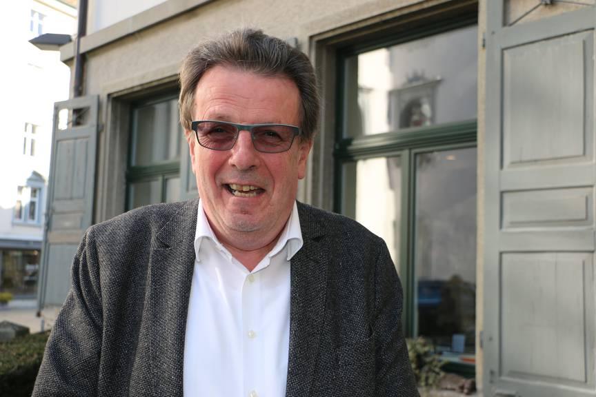 Bruno Bischof, Präsident der Fasnachtsgesellschaft St.Gallen (Bild: FM1Today/ Nina Müller)