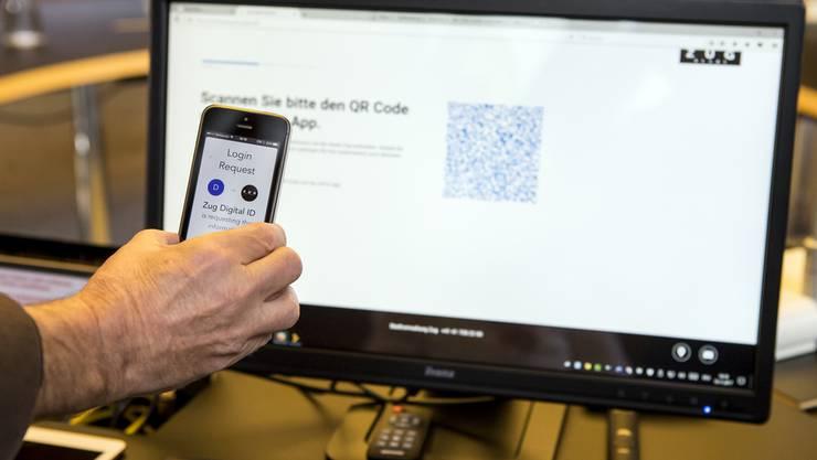Die Stadt Zug bietet bereits allen Einwohnerinnen und Einwohnern die Möglichkeit, eine digitale Identitaet zu bekommen.