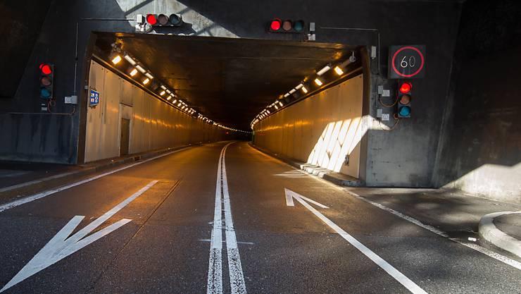 Die Einfahrt des Gotthard-Tunnels im Kanton Tessin bei Airolo. (Archivbild)