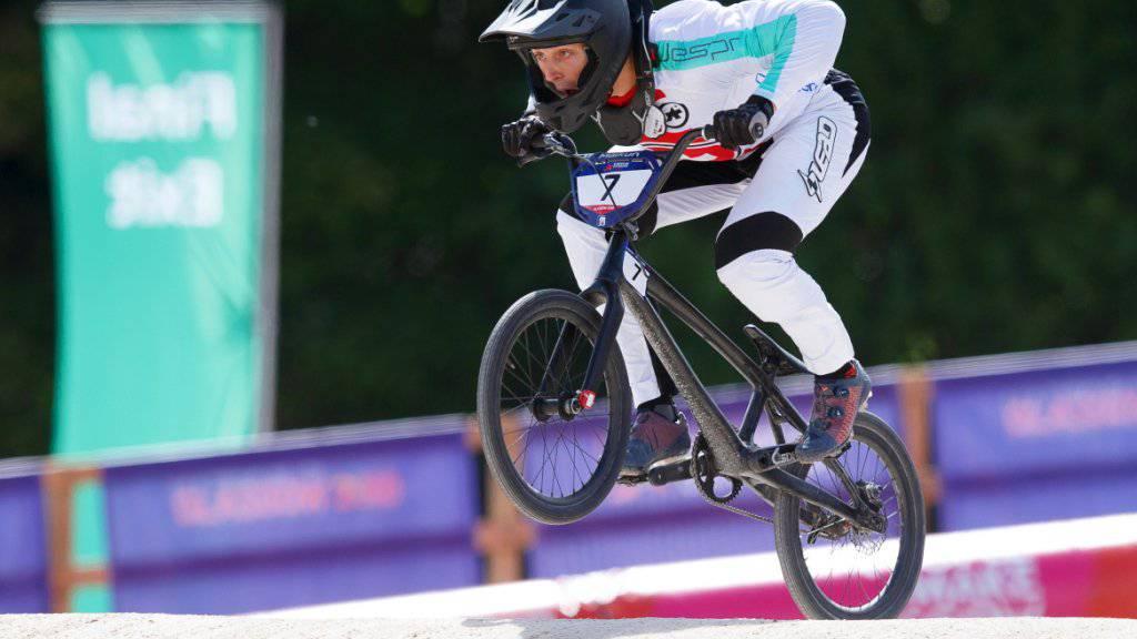 David Graf glänzte in Frankreich mit einem dritten Rang im Weltcup