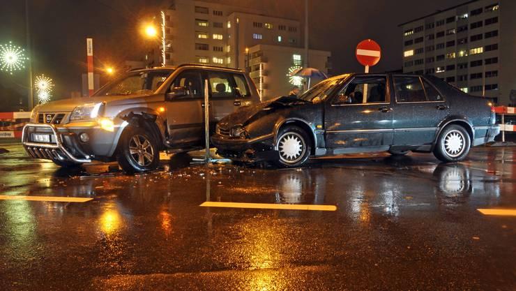 Der Unfall erreignete sich an der Hochbergerstrasse.