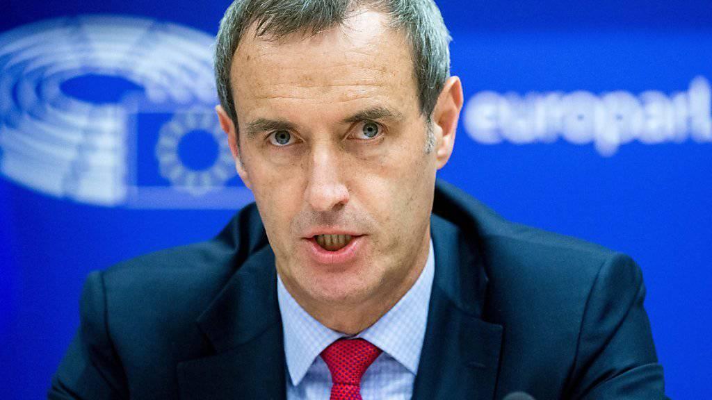 Die Zahl krimineller Banden nehme deutlich zu, sagt Rob Wainwright, Direktor von Europol. (Archiv)