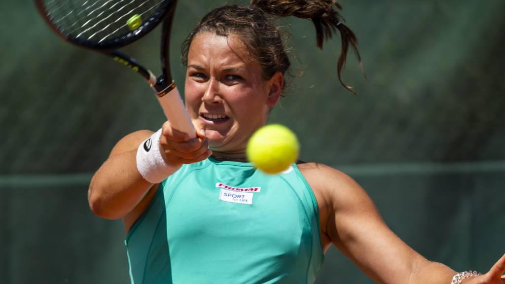 Schöner Erfolg in Klosters: Die Oberwalliserin Ylena In-Albon triumphierte beim ITF-Turnier in Klosters