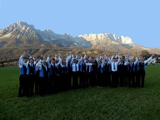 Jubel nach gelungenem Auftritt Foto: Esther Jenni-Heutschi, Balsthal