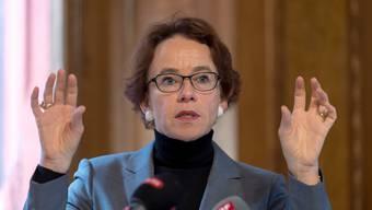 Im Januar 2020 wird Eva Herzog von der kantonalen Exekutive in den Ständerat wechseln. (Archivbild)
