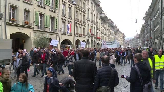 Bauern demonstrieren für faire Preise