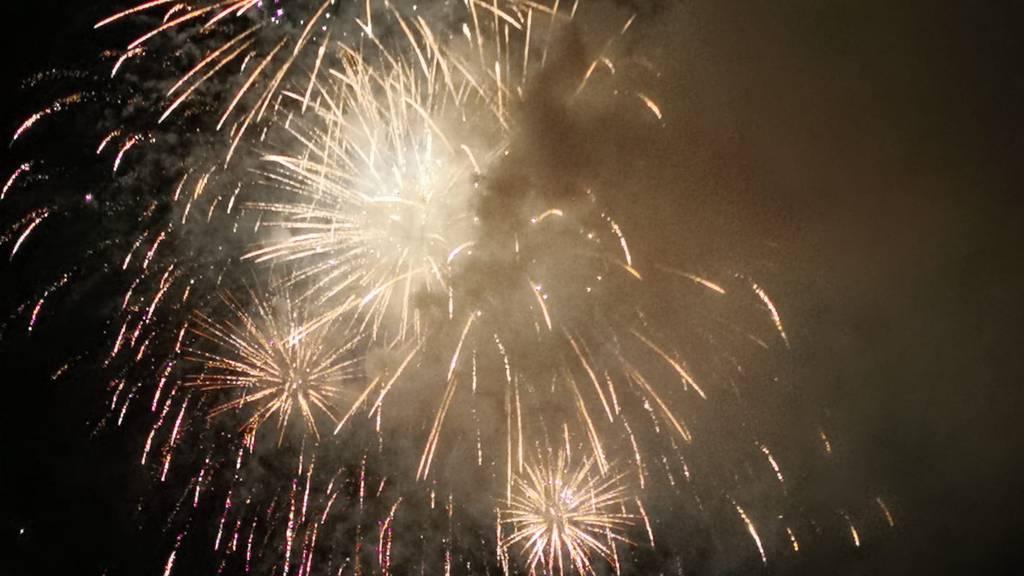 Feuerwerk für 40'000 Franken, aber niemand wusste etwas davon